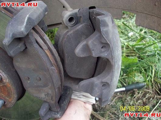 Замена тормозных колодок форд фокус 3 своими руками